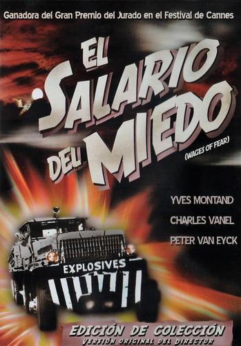 Imagen 1 de 3 de El Salario Del Miedo Wages Of Fear Pelicula Dvd