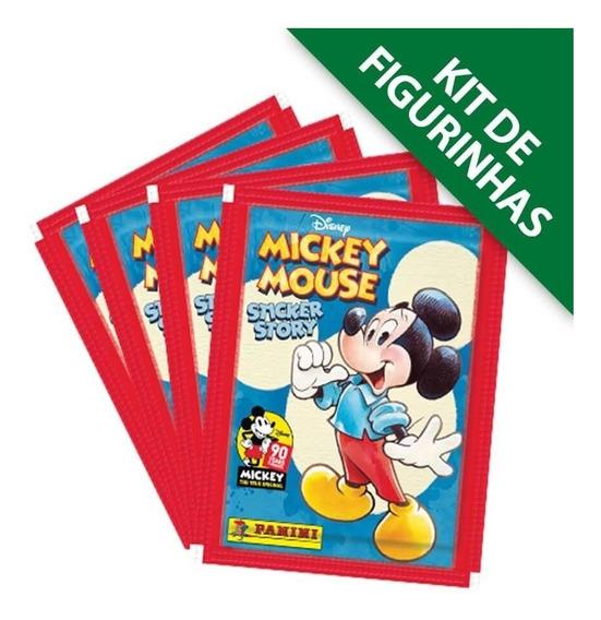 Kit De Figurinhas Mickey 90 Anos - Contém 12 Envelopes