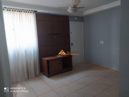 Imagem 1 de 11 de Apartamento Com 2 Dormitórios À Venda, 62 M² Por R$ 180.000,00 - Presidente Médici - Ribeirão Preto/sp - Ap4629