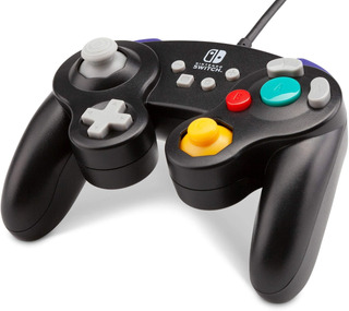 Control Nintendo Switch Game Cube Style Negro