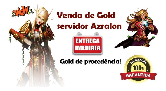 400k Ouro Gold Wow - Azralon Horda - Entrega Imediata!