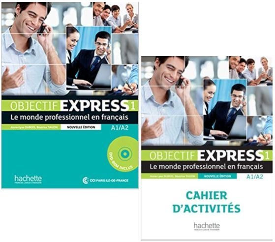 Objectif Express 1 Nouvelle Édition Élève E Cahier Juntos