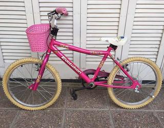 Bicicleta Paseo Rodado 20