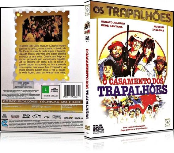 Dvd O Casamento Dos Trapalhões-renato Aragão/dede Santana