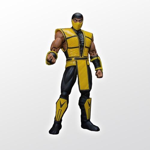 Mortal Kombat Vs Series Scorpion 1:12 Storm Collectibles