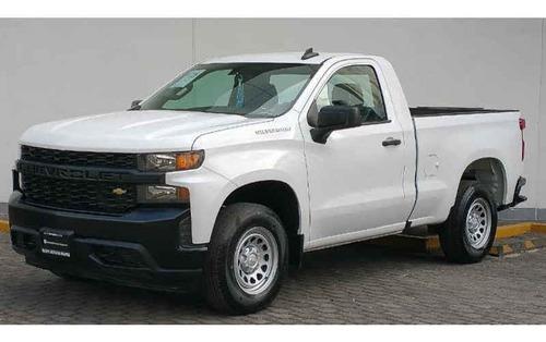 Imagen 1 de 14 de Chevrolet Silverado 2020 2p 1500 Wt Cr 4x2 A