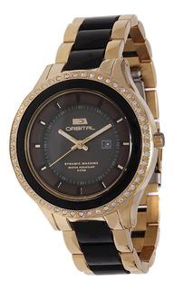 Hot Sale Reloj Orbital Acero Mujer Cuotas Sin Intereses