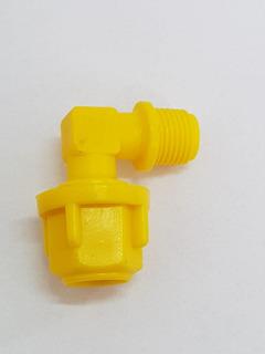 Joelho Micro Tubo 8 Mm X 1/8 Irrigação Kit 50 Peças