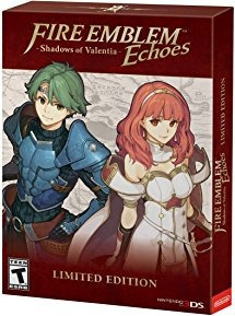 Nuevo Fire Emblem Echoes Shadows Of Valentia 3ds