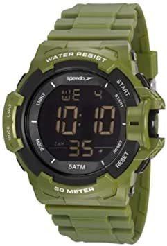Relógio Speedo Masculino Ref: 81202g0evnp1 Militar Digital