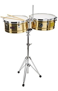 Latin Percussion Lp1415-b Timbal Latón Up Shop