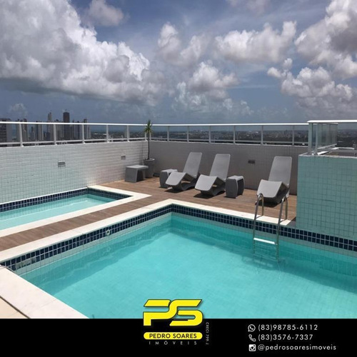 (oportunidade)  Apartamento Com 3 Dormitórios À Venda, 74 M² Por R$ 340.000 - Pedro Gondim - João Pessoa/pb - Ap4192