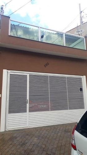 Imagem 1 de 23 de Sobrado Com 3 Dormitórios À Venda, 166 M² - Jardim Las Vegas - Santo André/sp - So20394