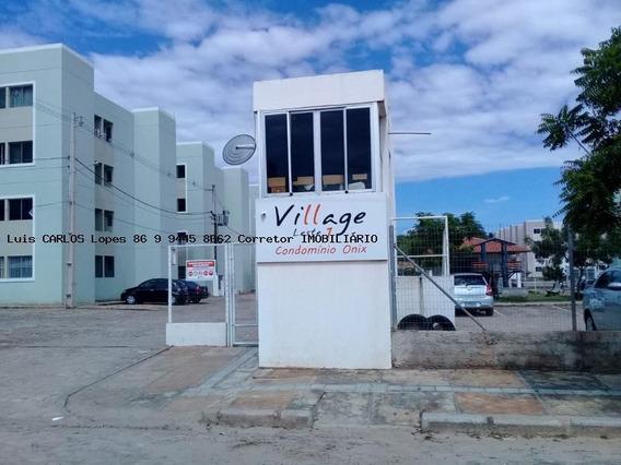 Apartamento 2 Quartos Para Venda Em Teresina, Vale Do Gavião, 2 Dormitórios, 1 Banheiro, 1 Vaga - Apto Village Leste I Onix