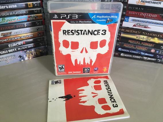 Resistance 3 Ps3 Original Seminovo Dvd