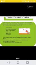 ¿tacos De Canasta Charly¿