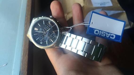 Relógio De Pulso Casio Wrist, Novo, Prata!