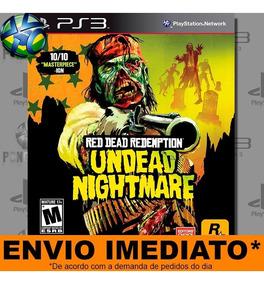Jogo Ps3 Dlc Undead Nightmare Red Dead Redemption Psn Play 3