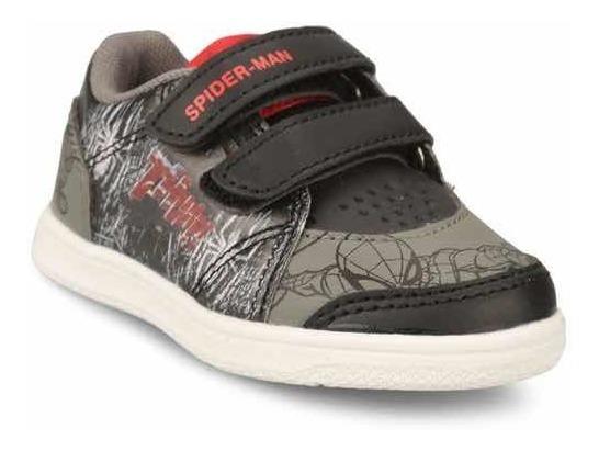 Zapatillas Spiderman Niño Casual Velcros