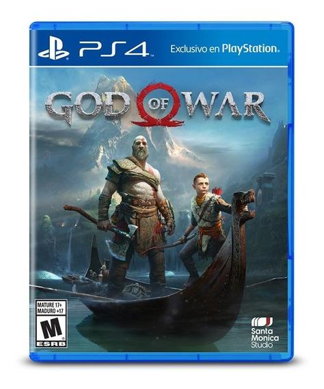 Juego Ps4 God Of War Estandar Edition- G0005550