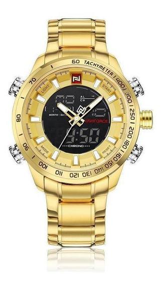 Relógio De Quartzo Luminoso Masculino Relógio De Calendár