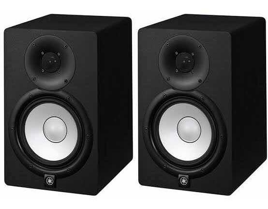 Par De Monitor Ativo Yamaha Hs 7 95w 110v