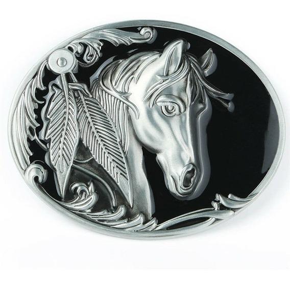 Fivela De Cinto Cowboy Horse Country Cavalo Top Festa Pião