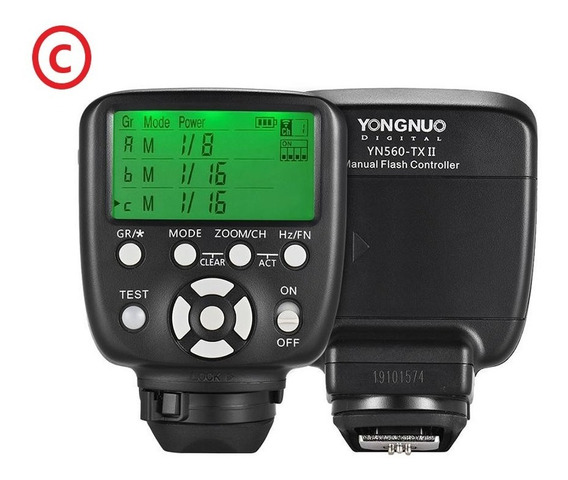Rádio Flash Yongnuo Transmissor Yn 560 Tx Ii - Canon E Nikon