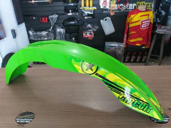 Paralama Dianteiro Circuit Strike Verde