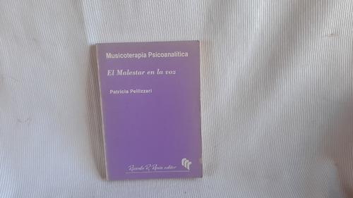 Musicoterapia Psicoanalitica Patricia Pellizzari Resio