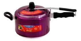 Panela De Pressão Uva Patolux 2 Valvula De Segurança 5 Litro
