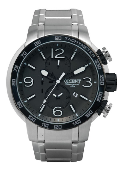 Relógio De Pulso Orient Masculino Com Cronógrafo Mbssc090
