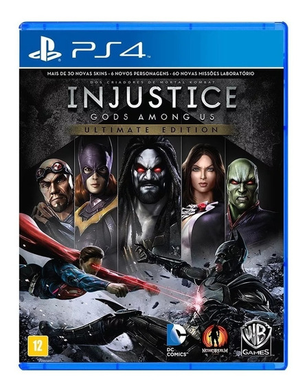 Injustice Gods Among Us Ultimate Edition Ps4 - Mídia Física