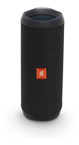Caixa De Som Bluetooth Portátil Jbl Flip 4 Preta