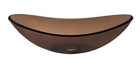 Imagen 1 de 7 de Novatto Babbuccia Glass Buque Fregadero Cuarto De Baño