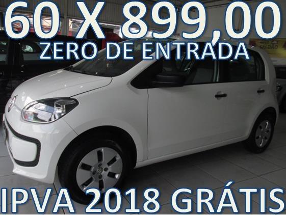 Volkswagen Up Completo Zero De Entrada + 60 X 899,00 Fixas