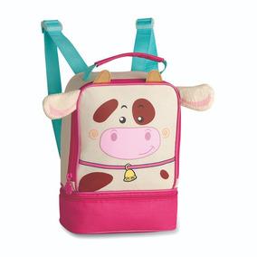 Lancheira Infantil Clio Pets 3d Zoo Cp9239l Térmica
