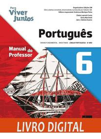 Para Viver Juntos - Língua Portuguesa - Ano 6