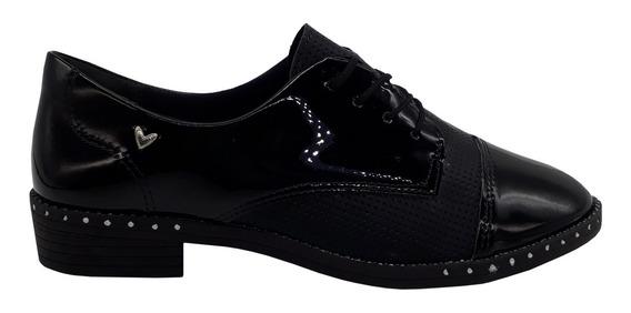 Sapato Oxford Feminino Mississipi De Verniz Q2442