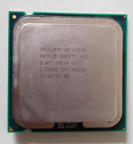 Processador 775 Intel Core 2 Duo E7200 2,53 Usado Ref: 01507