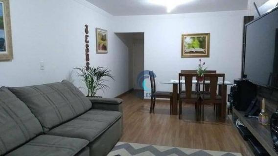Apartamento Com 3 Dormitórios À Venda, 88 M² Por R$ 425.000 - Jardim Estoril - São José Dos Campos/sp - Ap1266