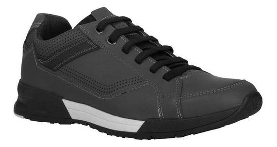 Zapatos Casuales Para Hombre Gris 24 Walks / 116707-04