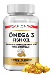 Ômega 3 - 120 Softgels - Nitech Nutrition