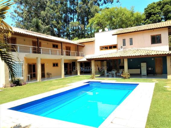 Casa Na Granja Viana 5 Dormitórios - Ca17188