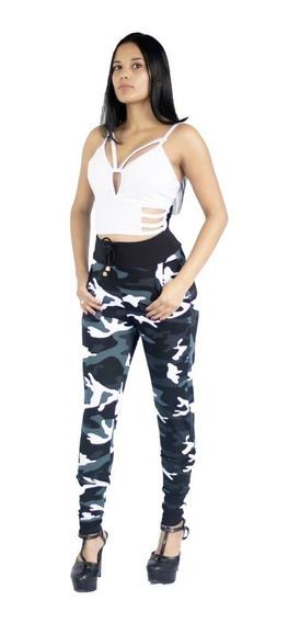 Calça Feminina Camuflada Exército Militar Instagram Promoção