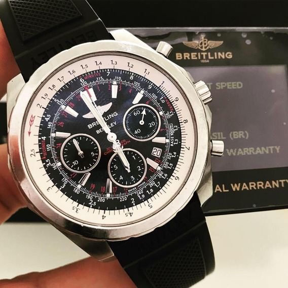 Breitling Bentley 47mm Completo Impecável