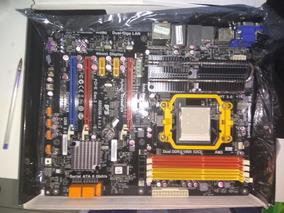 Placa Mãe Gamer Para Processador Amd + Usb 3.0 (semi Nova)