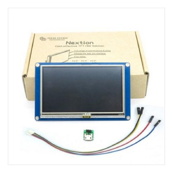 Display Lcd Nextion Nx4827t043 4.3 Inch