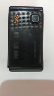 Celular Sony Ericsson Flip Trocar Bateria..