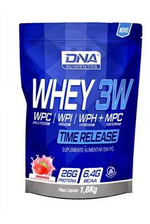 Whey 3w 1,8kg Refil+ Shakeira